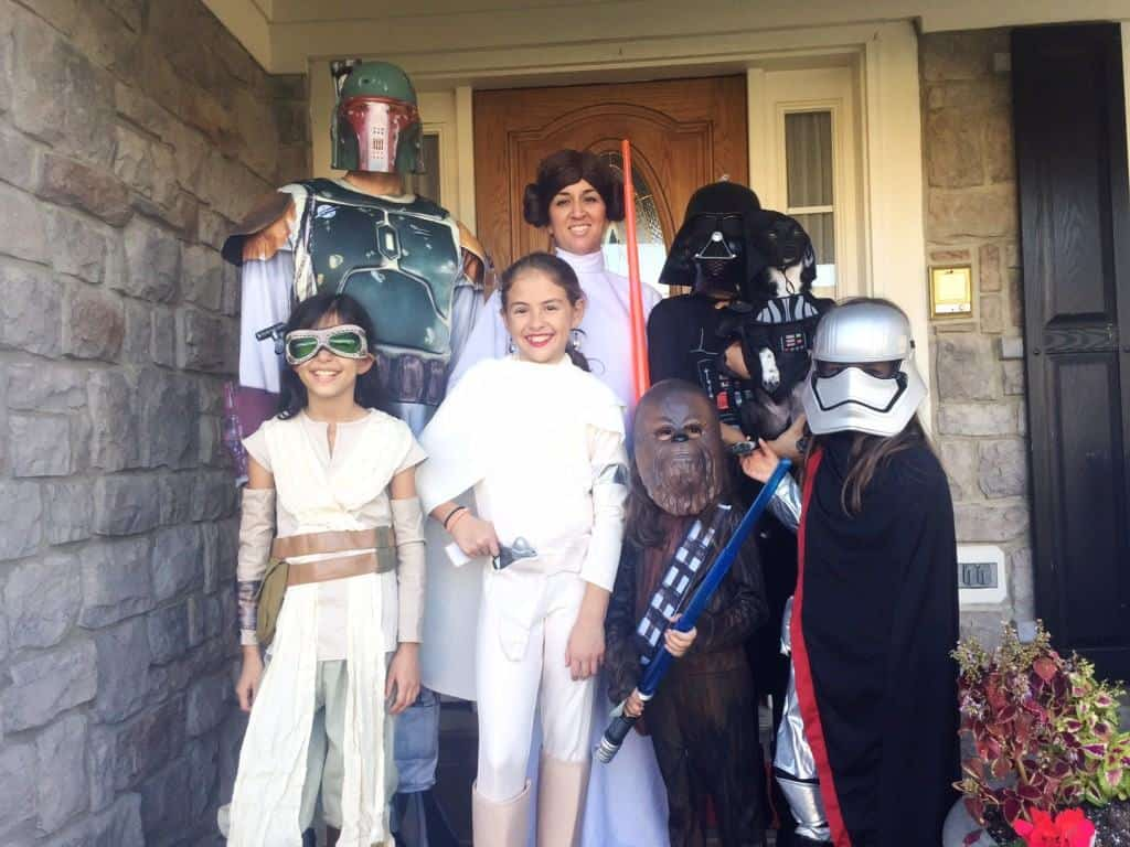 Family Star Wars Costumes