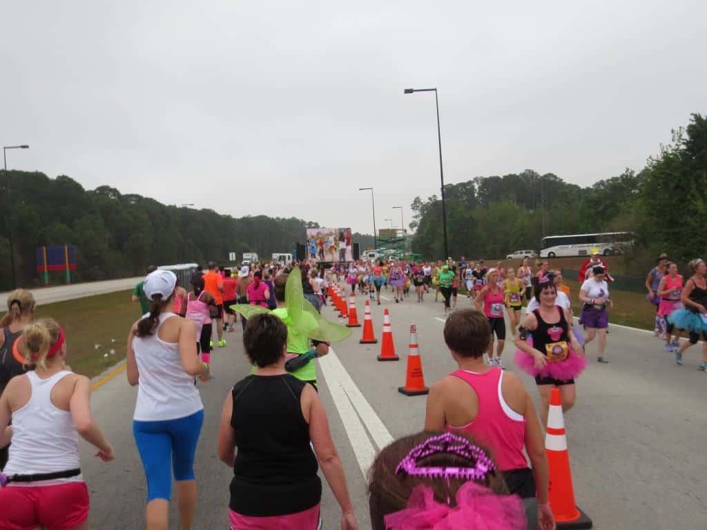 Disney Princess Half Marathon race course