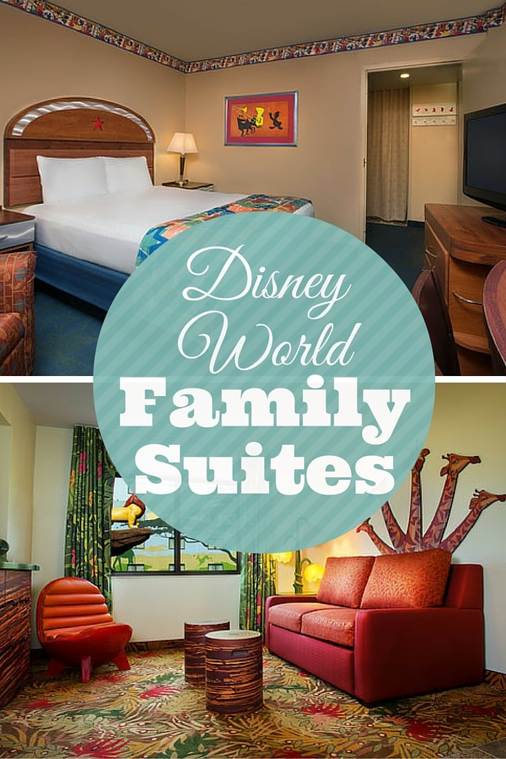 Are you looking for affordable Walt Disney World accommodations for large families? My comparison of Disney's Art of Animation Resort versus Disney's All-Star Music Disney World Family Suites. Value rooms for larger families on your next Walt Disney World vacation.