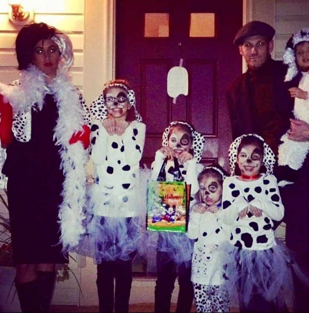 101 Dalmatians Family Costume Tutorial - quick and easy!