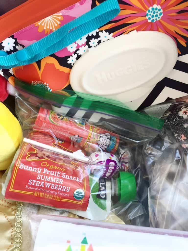 Snacks are always a necessity when packing for Walt Disney World with toddlers