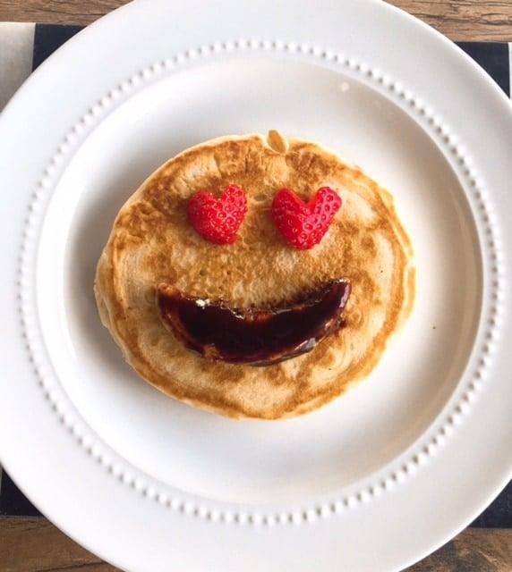 Emoji pancake
