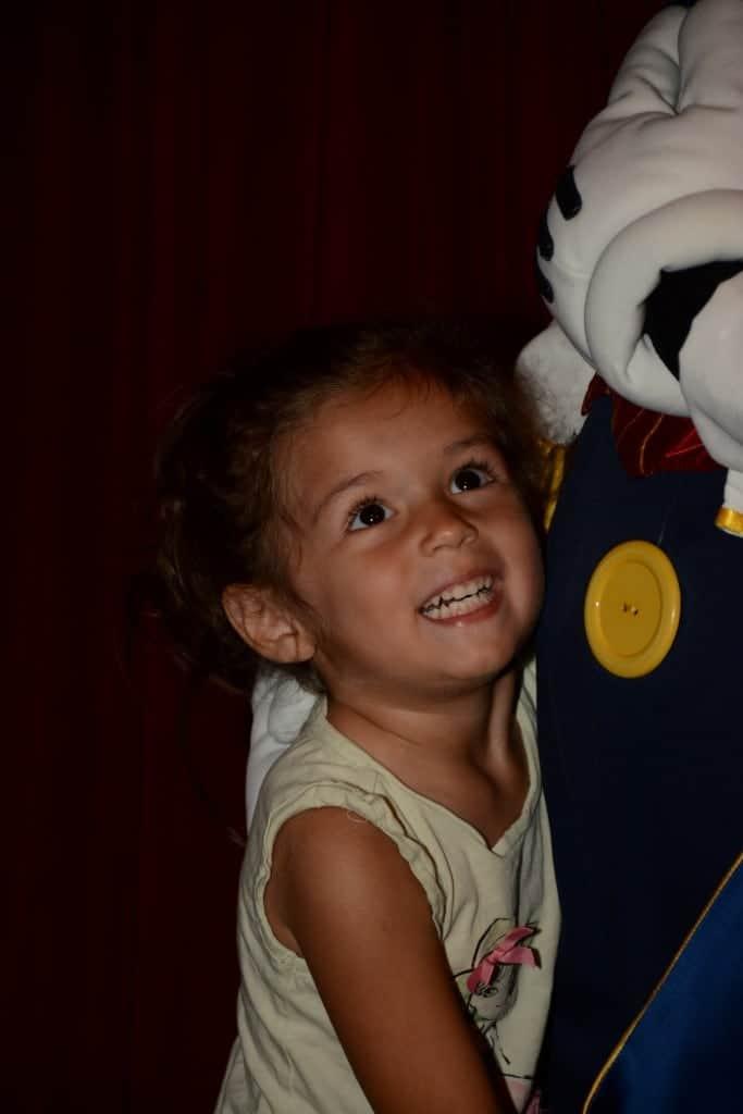 Happy toddler at Walt Disney World