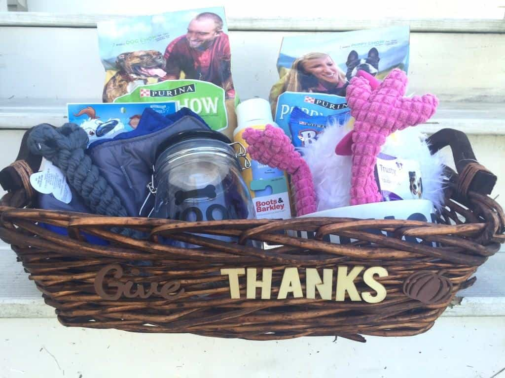 Thanksgiving Gift Basket for Dogs