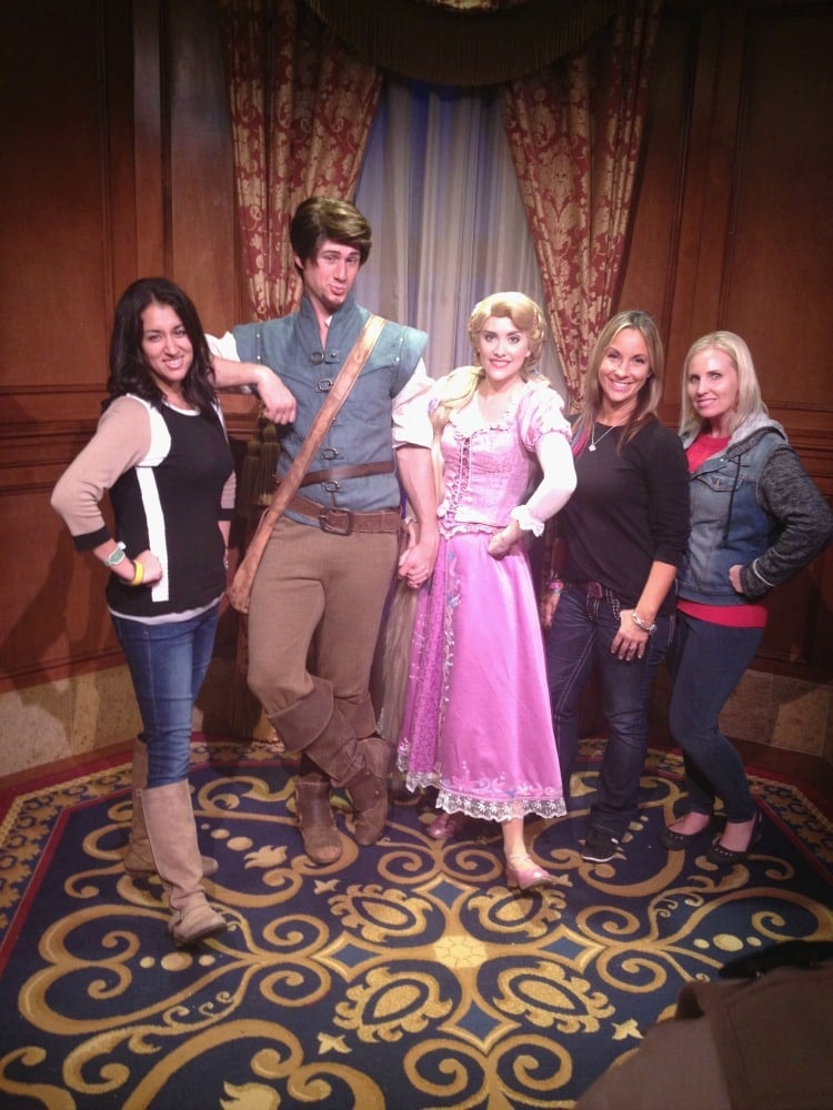 Meet and Greet with Flynn Rider at Mickey's Very Merry Christmas Party