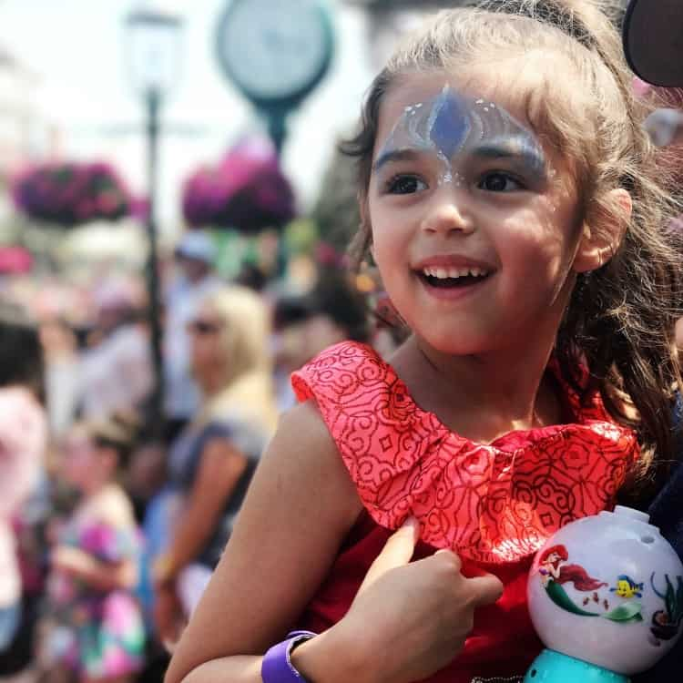 The best Walt Disney World parade for toddlers is Festival of Fantasy. My daughter's face lights up when she watches!