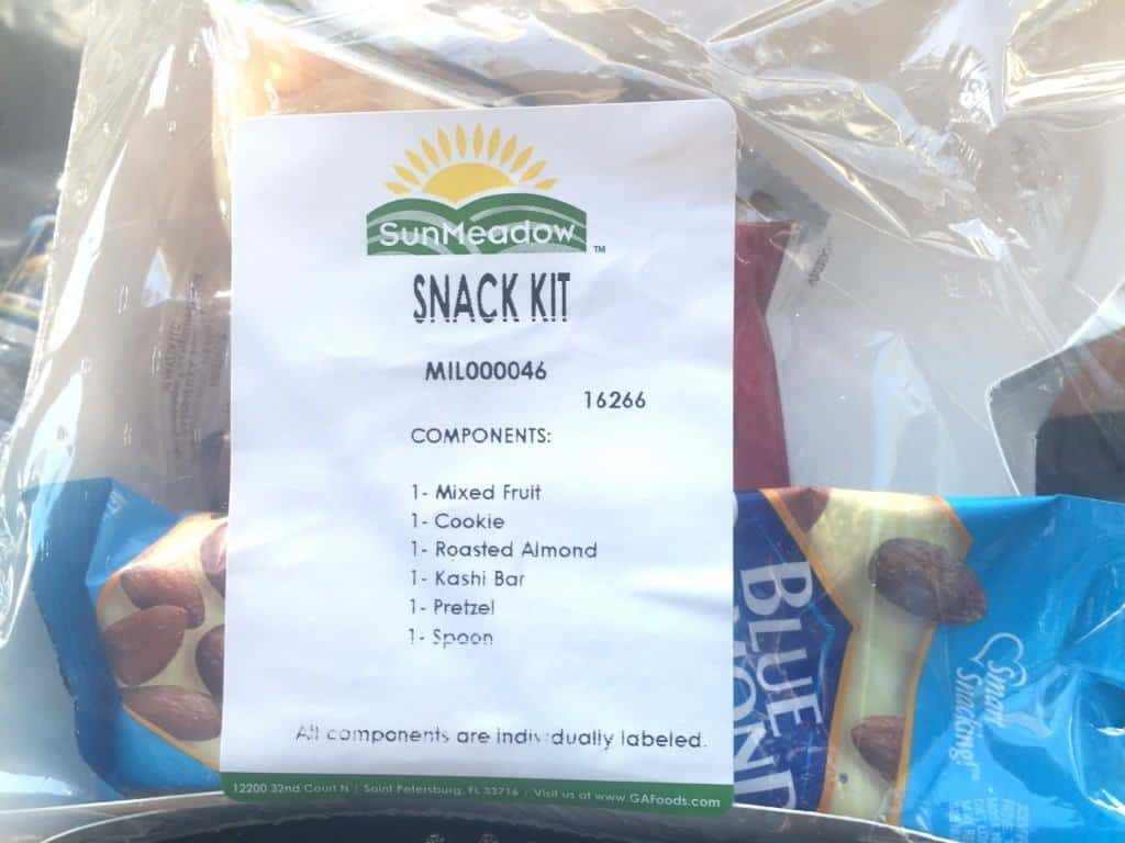 Army Ten Miler Race Snack Kit