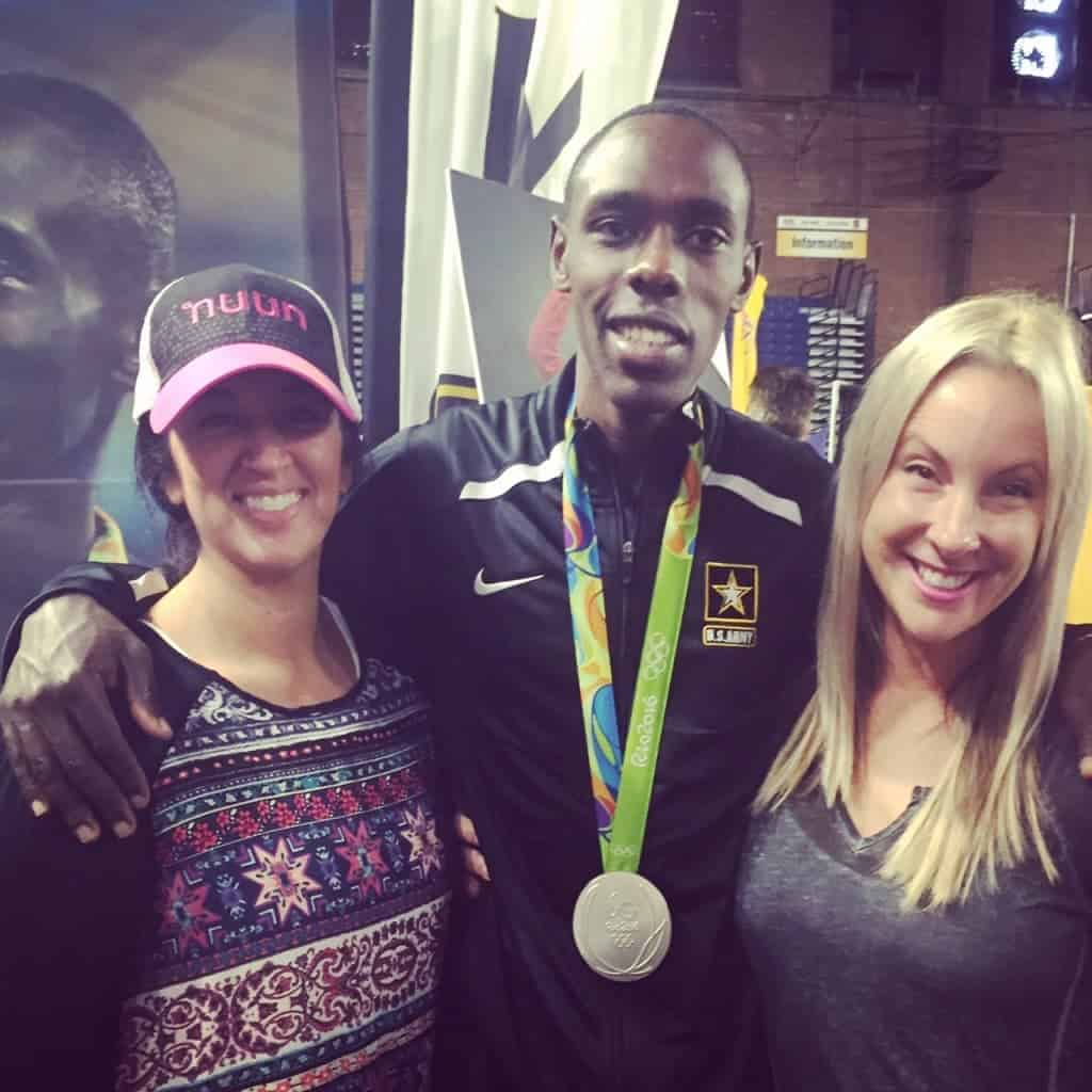 Army Ten Miler Expo with Paul Chelimo