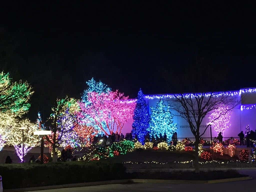 Washington D.C. Temple Festival of Lights