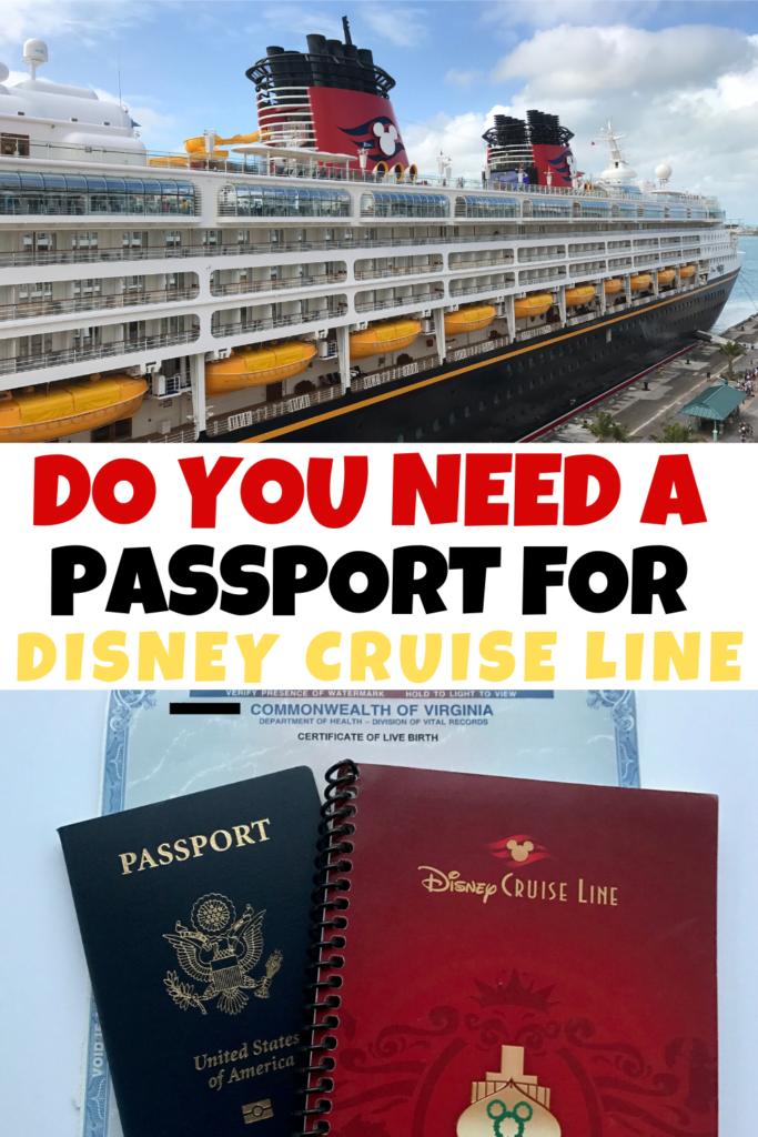 Disney Cruise Line Travel Documentation Requirements