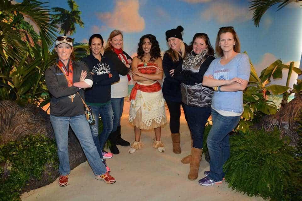 Moana Meet and Greet at Disney's Hollywood Studios in Walt Disney World