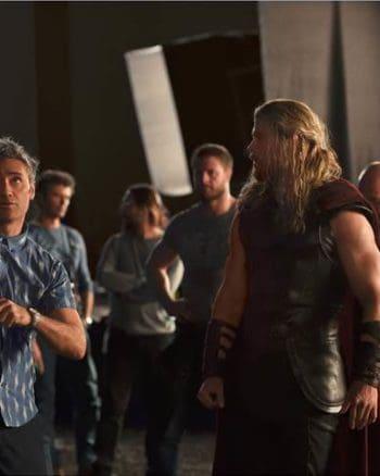 Thor Ragnarok - Chris Hemsworth in action as Thor