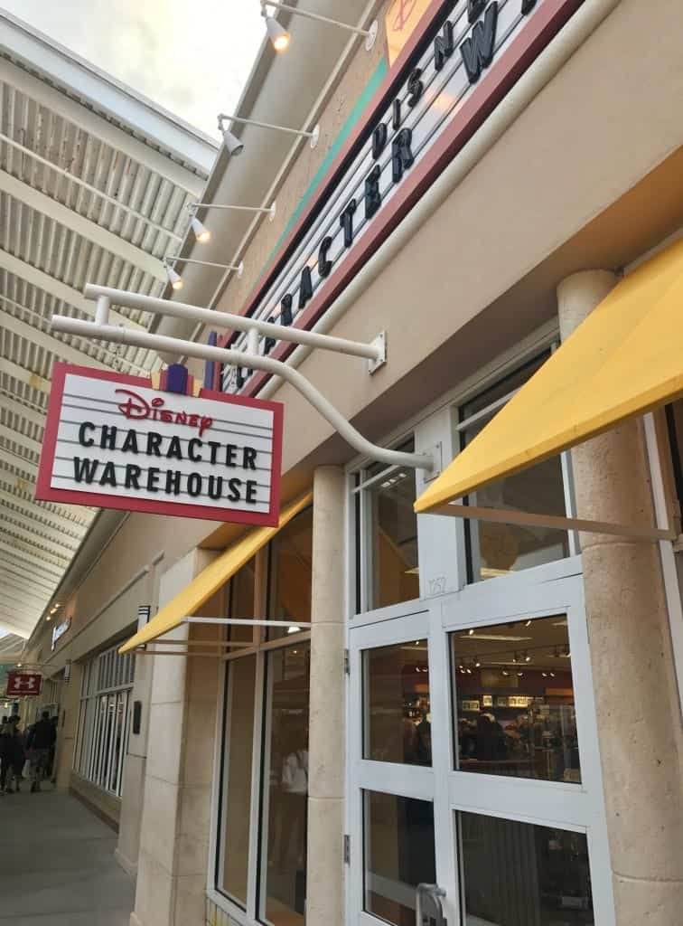 Best Orlando Disney Outlet- Disney Character Warehouse