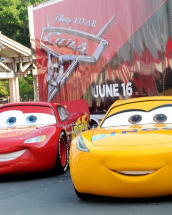 Come see Lightning McQueen and friends in the Nationwide Cars 3 Tour!