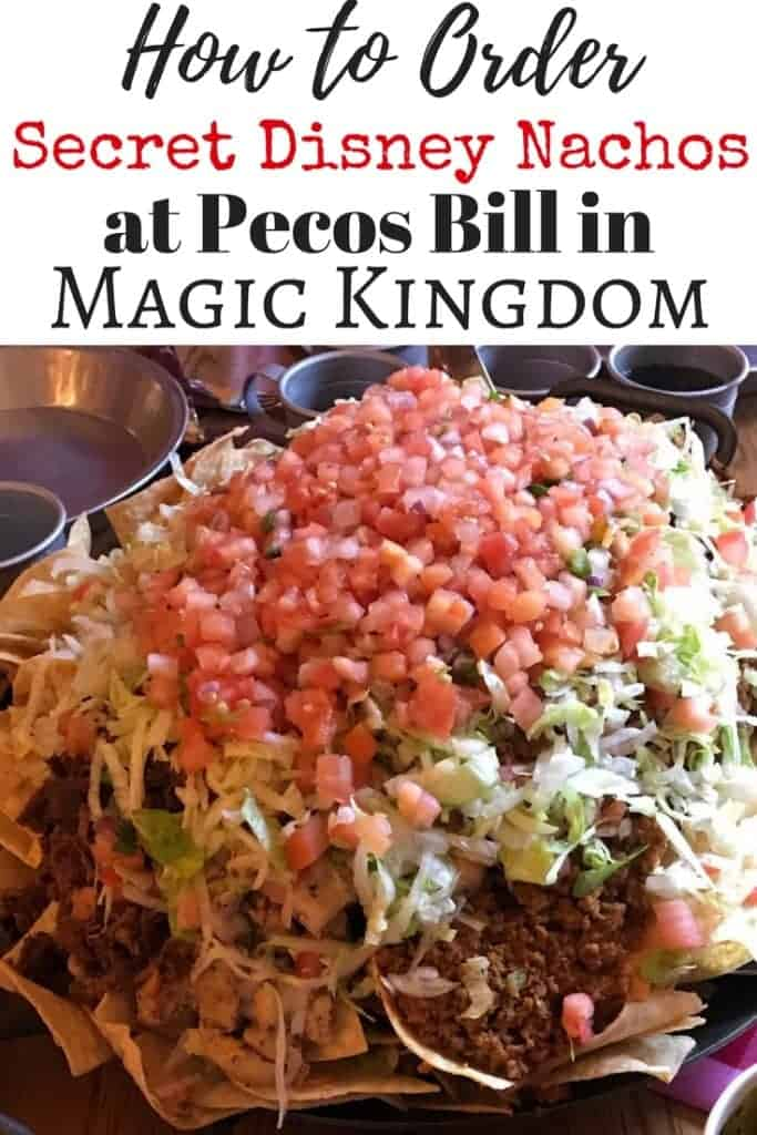 Disney Food is my favorite! Did you know about the secret nachos on the menu at Pecos Bill in Frontierland in Magic Kingdom? I'll tell you all about them and how to order them. If you're traveling with a large party to Walt Disney World, add this quick-service Disney restaurant to your list!