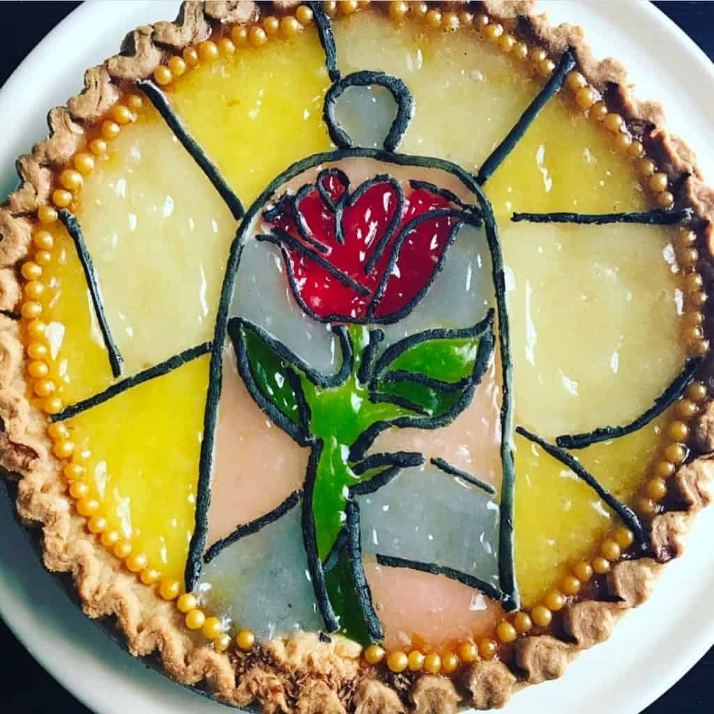 Simple Beauty and the Beast pie for Pi Day. Easy pie hacks for the baking challenged.