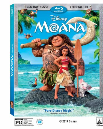 MOANA comes out on Blu-ray March 7! Catch some of the awesome Bonus Features!