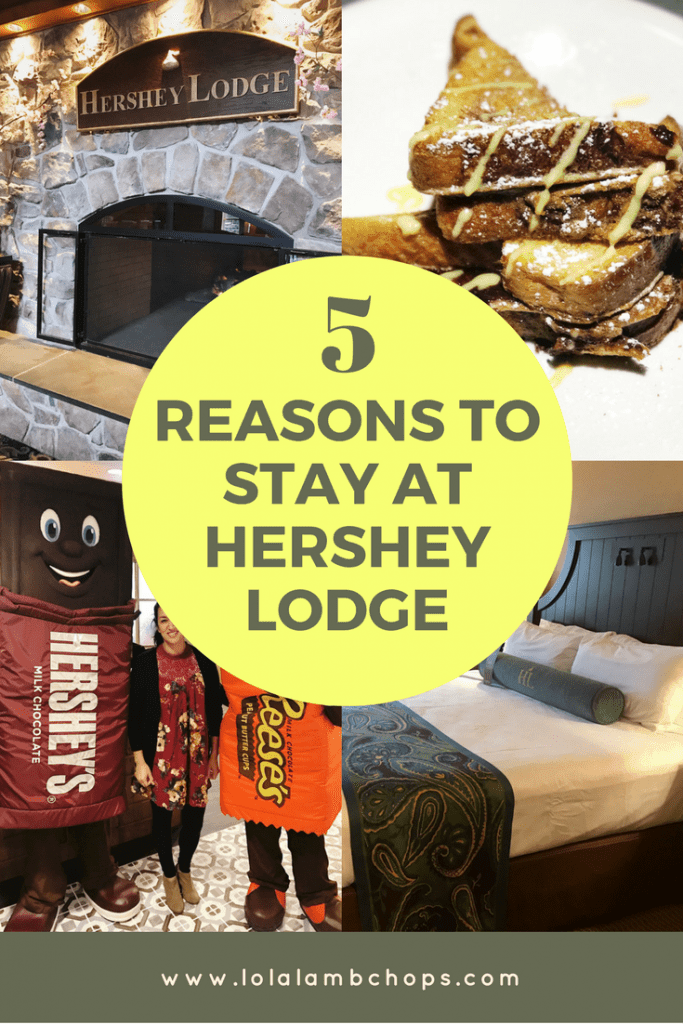 Hershey, PA is the sweetest place on earth. Check out my Hershey Lodge review and why I think it's a great place to stay with families. Hershey's Water Works is a big reason!