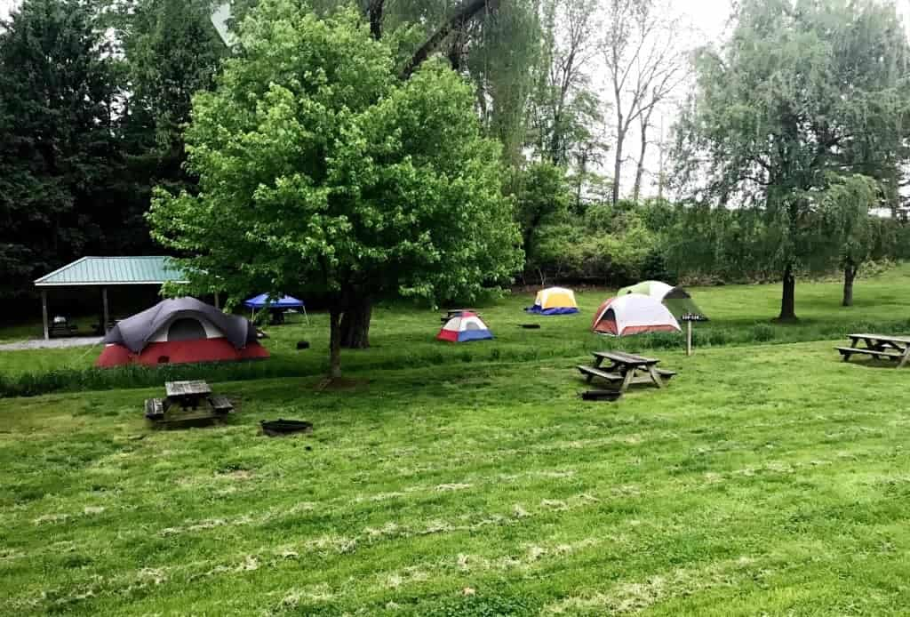 Need a low-cost adventure? Then grab a tent and head to Hersheypark Camping Resort!