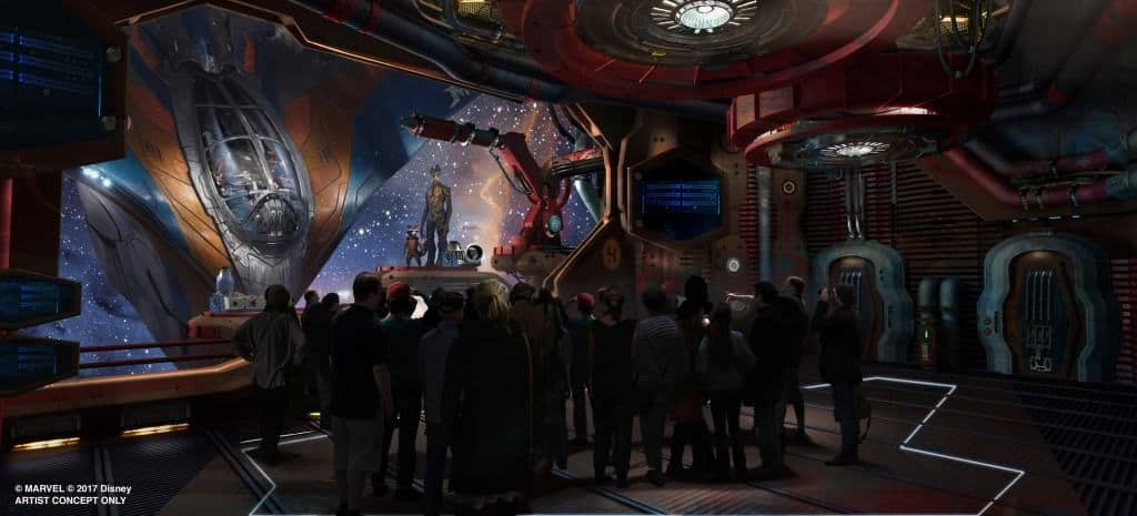 A new Epcot attraction will open based on Guardians of the Galaxy!