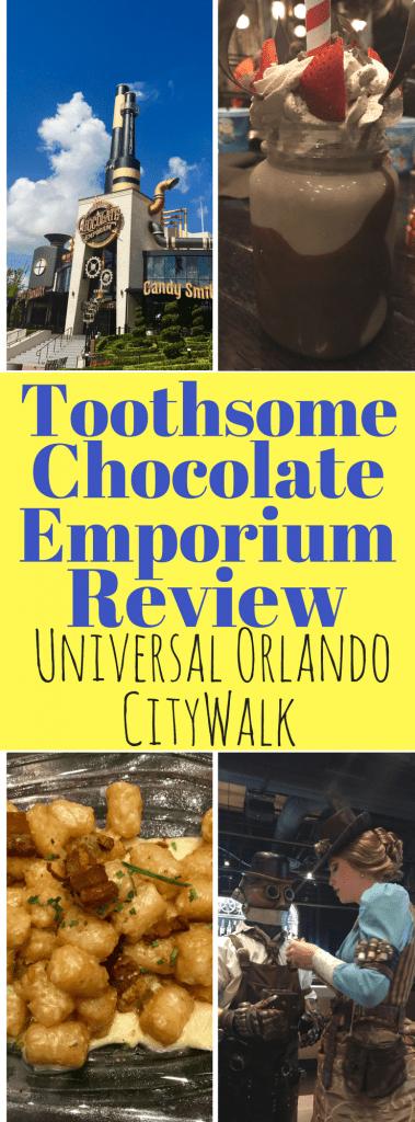 Toothsome Chocolate Emporium Review At Universal Orlando