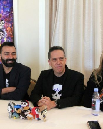 Coco Directors and Producers Lee Unkrich, Adrian Molina, and Darla K.Anderson talk about why they make us cry in Coco.