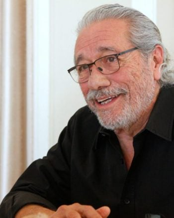 Edward James Olmos voices the curmudgeon-like character of Chicharron in COCO.
