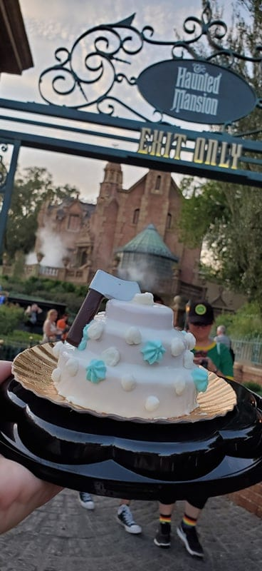 Constance's For Better or For Worse Cake at Mickey's Not So Scary Halloween Party