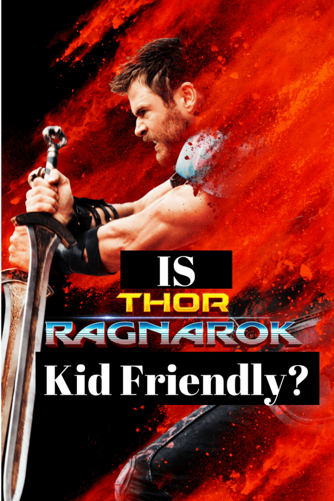 Is Thor: Ragnarok kid friendly and family friendly? The lowdown on the language, sexual content, and violence in Thor: Ragnarok from a mom's point of view.