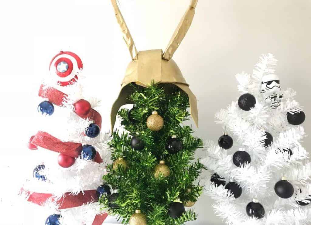DIY your Christmas trees with your favorite Disney, Marvel, and Star Wars Characters.