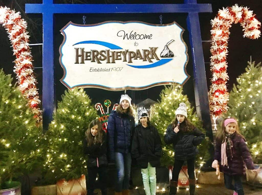 Hersheypark Christmas Candylane is a highlight of visiting Hersheypark in the winter.