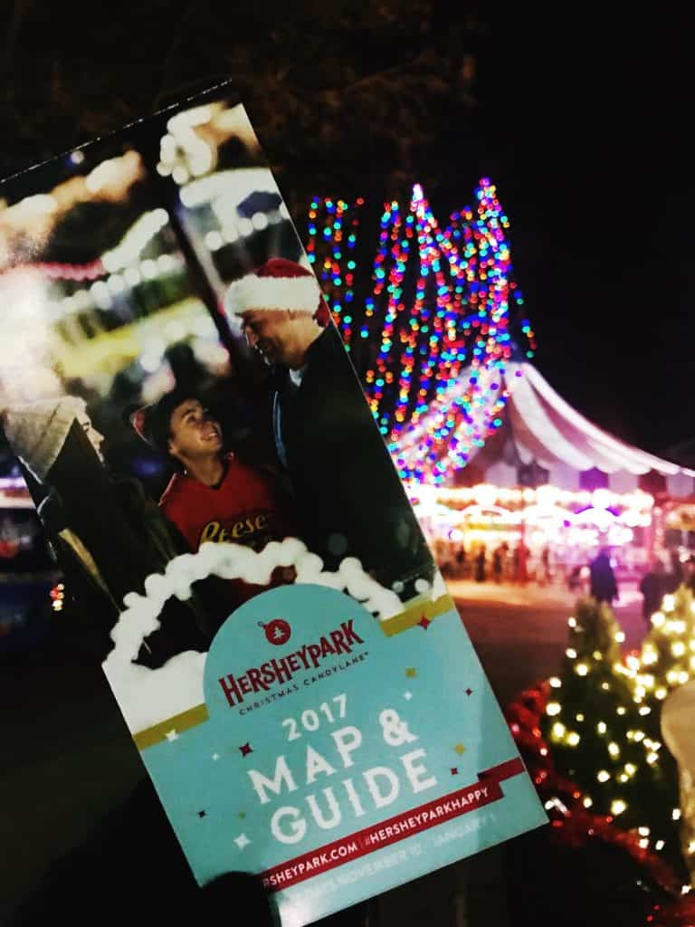 Hersheypark Christmas Candylane is the best activity when you visit Hersheypark in the winter.