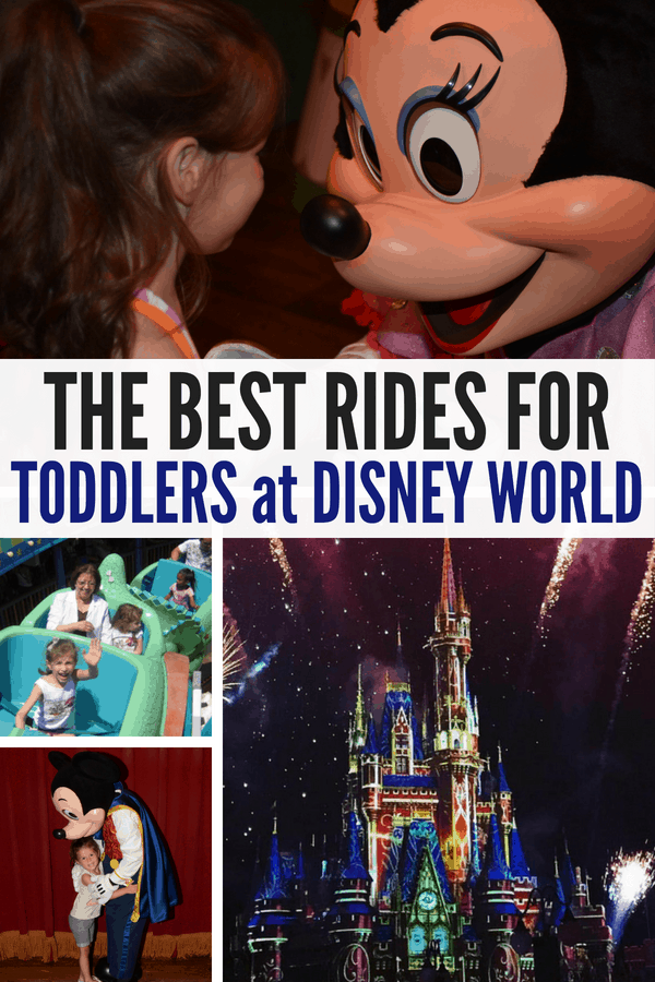 The best rides and tips for toddlers at Disney World! If you're taking little ones to Disney, then check out these lists of rides at Magic Kingdom, Animal Kingdom, Epcot, and coming soon is Toy Story Land! #DisneyWorld #Toddlers #FamilyTravel