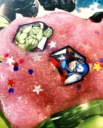 Add your favorite Marvel characters to make Avengers Slime!
