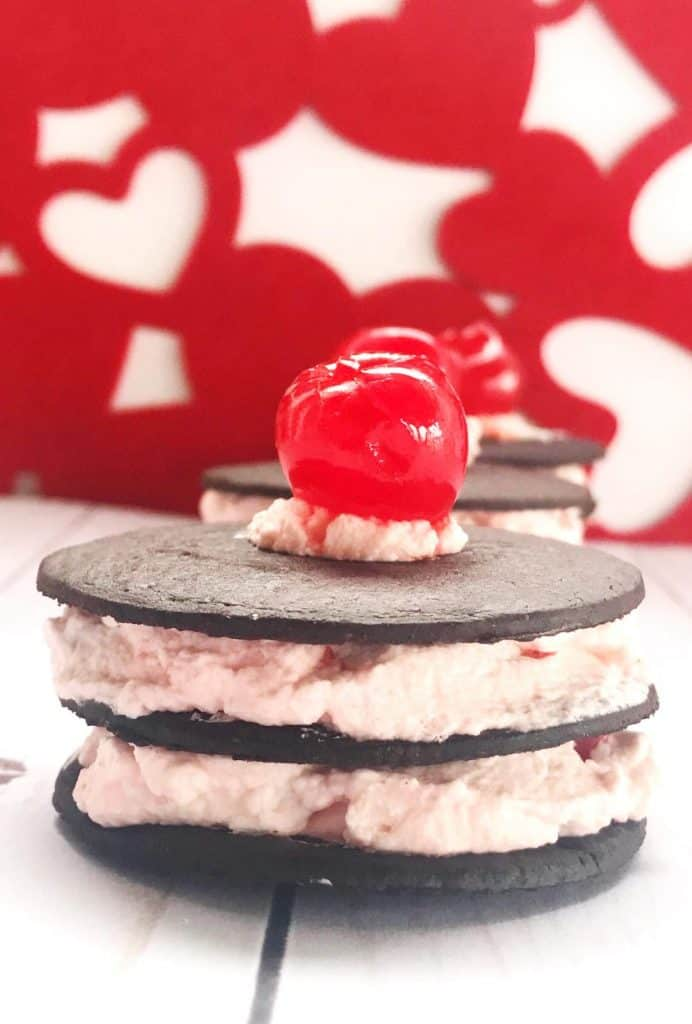 If you're looking for a delicious Valentine's Day Dessert, try this recipe for cherry chocolate wafer cookies.