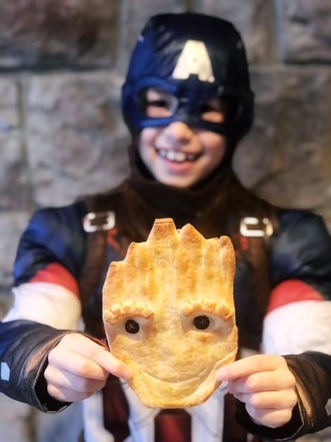 Make your own Teen Groot Bread for your superheroes!