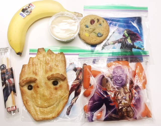 Make your Teen Groot bread for school lunches!