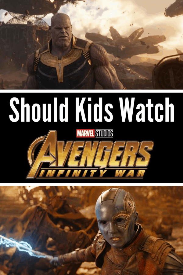 Is Avengers Infinity War kid friendly? Should you take your kids? Here's a non-spoiler review for parents on profanity, nudity, and violence in Avengers Infinity War.