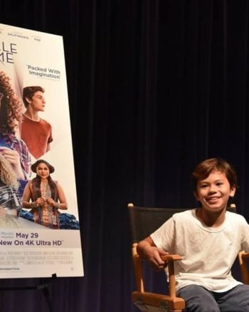 Deric McCabe is packed full of sass in this A Wrinkle in Time Blu-ray interview.