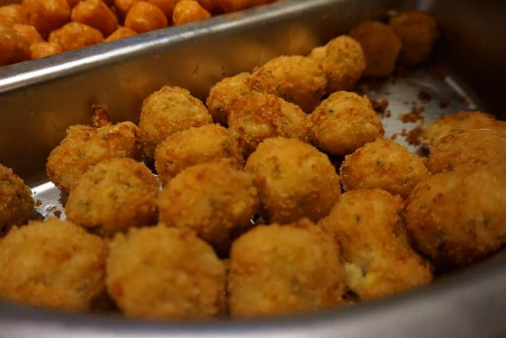 Mac and Cheese Balls from National Pastime Sports Bar & Grill