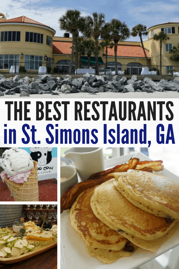 The best restaurants and snacks in St. Simons Island, GA! Here's your guide to the best dining in St. Simons!