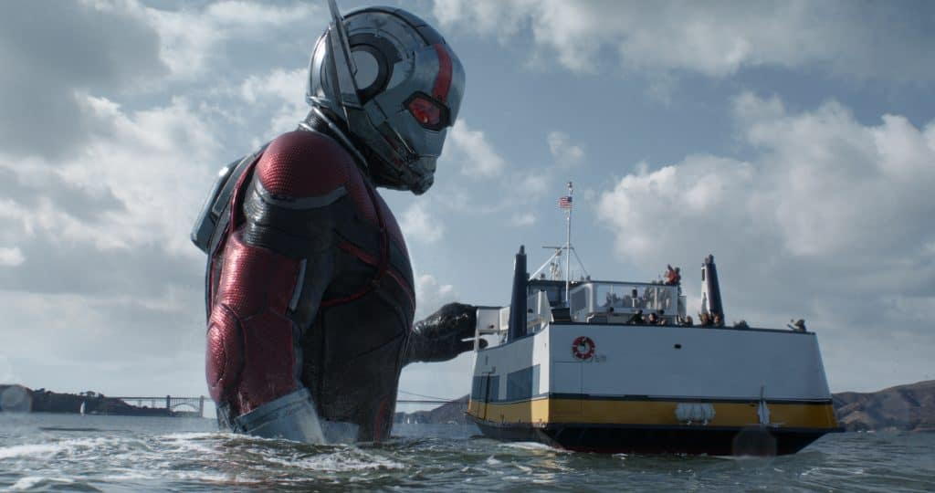 Is Ant-Man and the Wasp kid friendly? Well giant Ant-Man makes it fun.