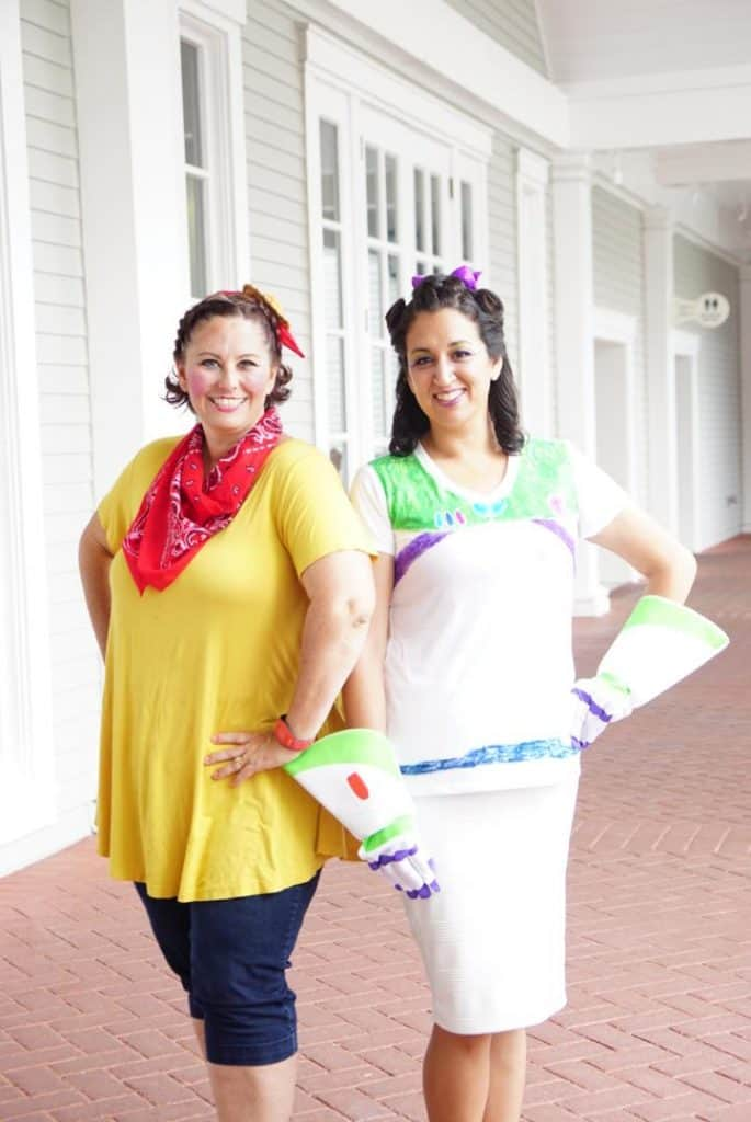 Character Couture Makeovers with Buzz and Woody