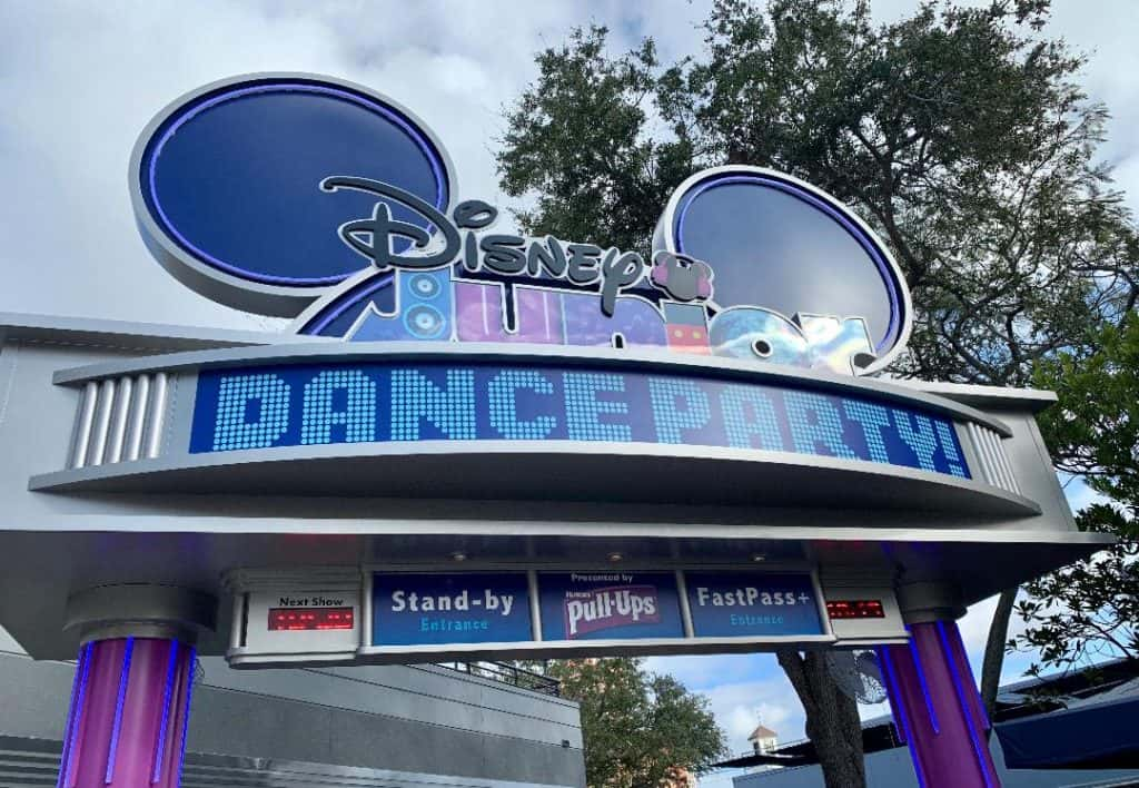 The Disney Junior Dance Party is great for toddlers at Hollywood Studios!
