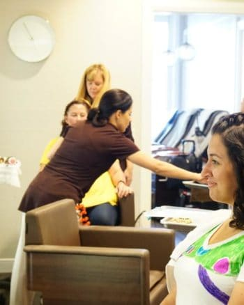 Enjoy a makeover for adults or children in the Walt Disney World salons.