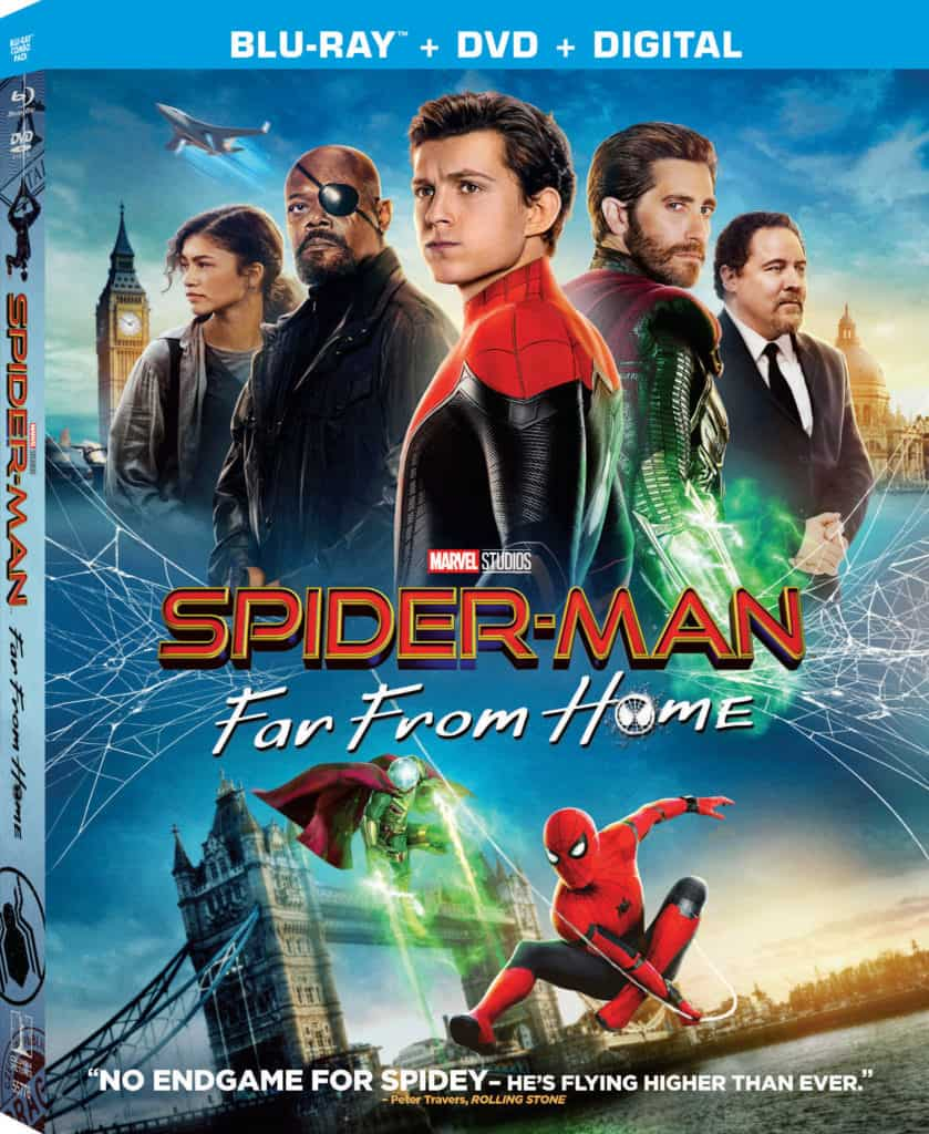 Spider-Man: Far From Home on Blu-ray Bonus Features