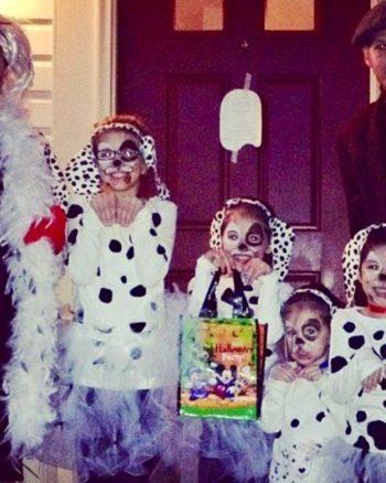 DIY 101 Dalmatians Halloween Costume