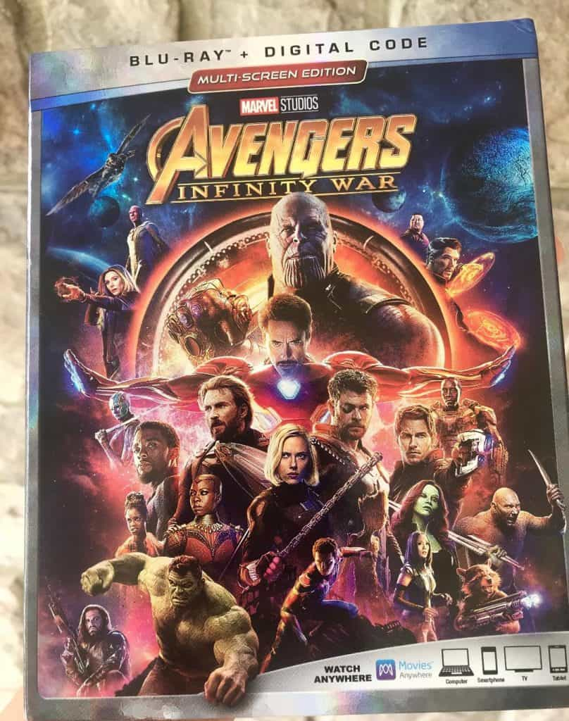 Here's what's included on the Avengers Infinity War Bluray bonus features!