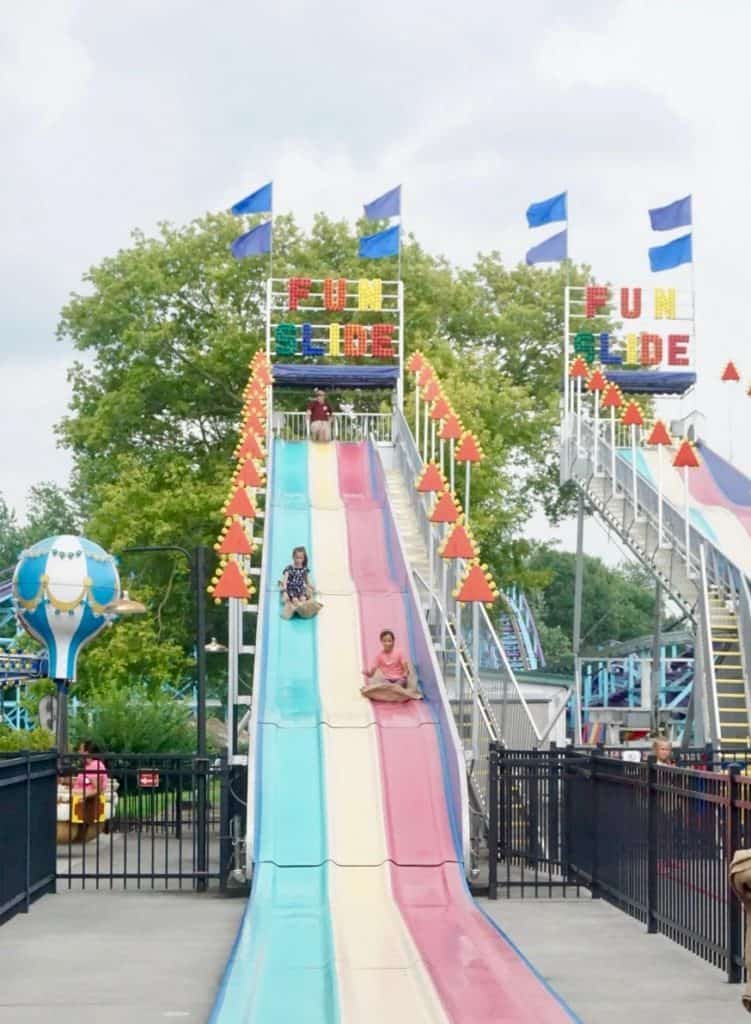 Dutch Wonderland has tons of carnival-type rides for little kids.