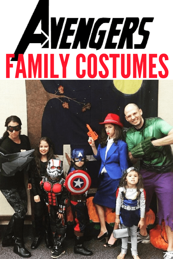 Avengers Family Costumes To Assemble Lola Lambchops